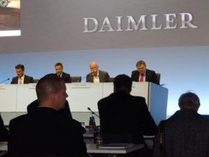 Daimler Jahrespressekonferenz