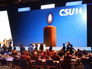 Bei der CSU gibt es noch einen Gottesdienst am Parteitag.
